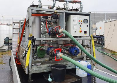 Pic showing more detailed view of the big rig fuel polisher