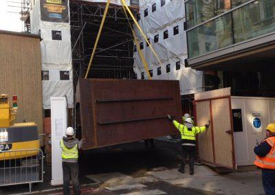 Tank build – St Thomas's Hospital