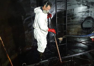 Tank clean, decommission and removal – Hastings