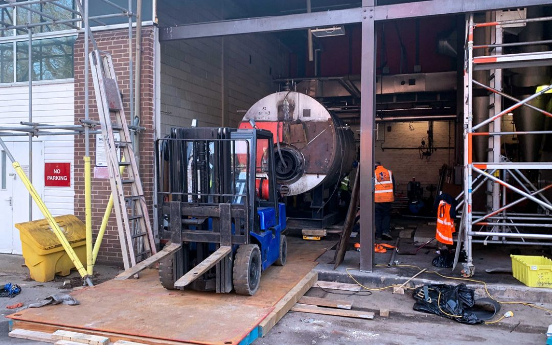 Boiler decommissioning and removal – Essex